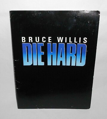 Die Hard The Press Kit 1988 Bruce Willis 8X10's Folder And More First Movie