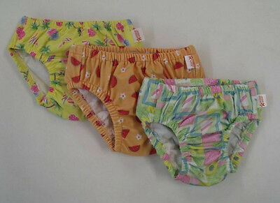 Unisex BABY TODDLER Swim Diaper COVER Pool Class REUSABLE WASHABLE Pant 6-12m
