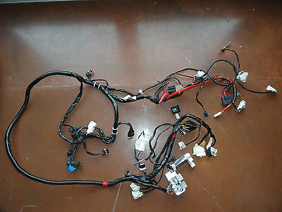 2012 Vespa LX 150 complete wiring harness w/fuses and relays