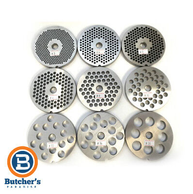 Mincer Plate No.22 -Available Sizes 3,4,5,6,8,10,13,16 & 20Mm Holes-Best Quality