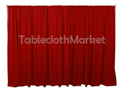 10 x 5 ft Backdrop Background FOR PIPE AND DRAPE DISPLAY Polyester panel 24COLOR