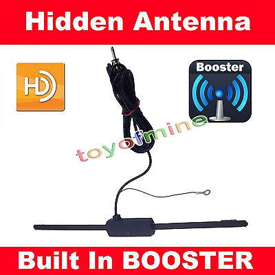 Universal Car Auto Hidden Amplified Antenna 12v Electronic Stereo Am/Fm Radio