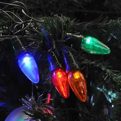 20 Multi Coloured Large Bulb Multi Action LED Lights. Outdoor or Indoor Use.
