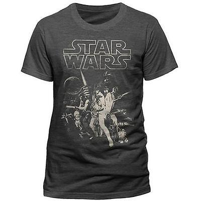 Star Wars: A New Hope Short Sleeve Cotton T-Shirt - New & Official Lucasfilm