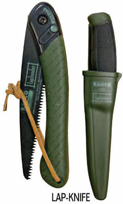Bahco Laplander Folding Saw & Mora Knife Combo, #lap-Knife