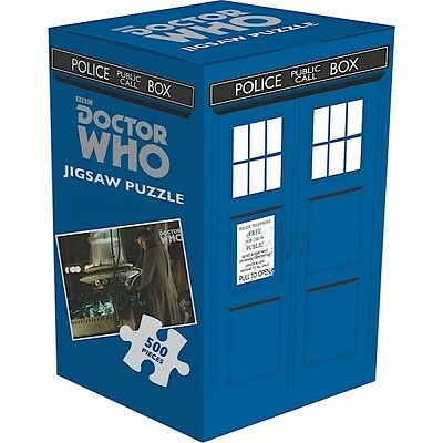 Dr Doctor Who Tardis Jigsaw Puzzle 500 Pieces Time Lord Gift Fan Official BBC