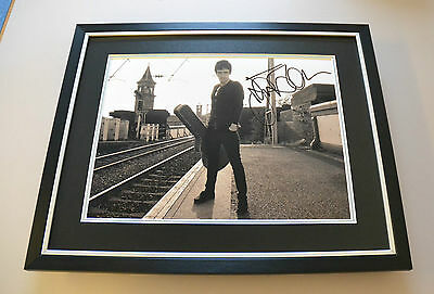 Johnny Marr Signed Photo Large Framed The Smiths Autograph Memorabilia Display