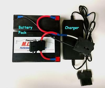 18 Volt Conversion for 12 Volt Power Wheels Vehicles w/ 18v Charger