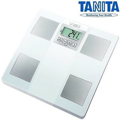 TANITA Digital Bathroom Weighing Body Fat Water Composition Monitor Scale #UM051