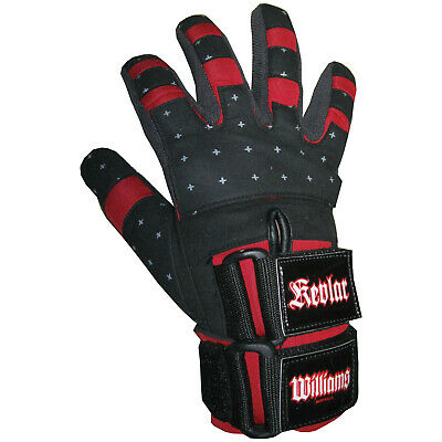 Williams Kevlar Gloves - Curved Fingers Double Closure - Sizes Xs - Xxl (5790)