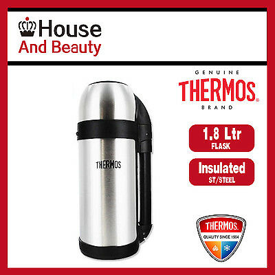 Thermos THERMOcafe S/Steel Vacuum Insulated Food & Drink Container Flask 1.8L