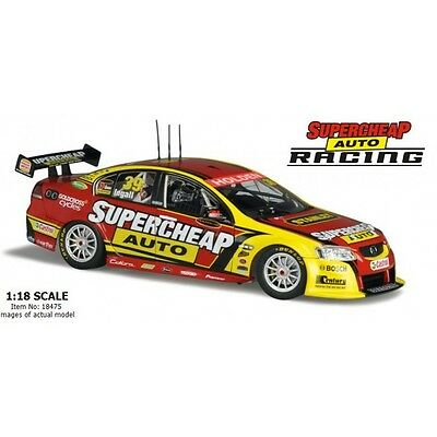 Classic Carlectables 1/18 Russell Ingall 2011 Supercheap Auto Racing VE SeriesII