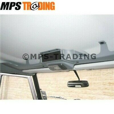 Land Rover Defender 1983 Onwards Without Sunroof Black Roof Console - Da4629B