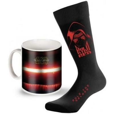 Star Wars - The Force Awakens Mug And Sock Set - New & Official Lucasfilm In Box