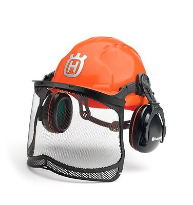 Husqvarna Chainsaw Safety Helmet Classic With Ultravision Visor 580754301 boxed