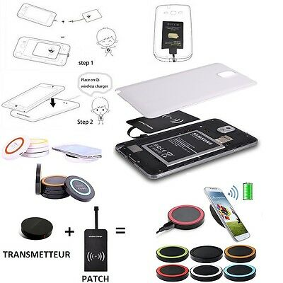 Chargeur Sans Fil Universel Induction QI Wireless Kit Charger Samsung Galaxy