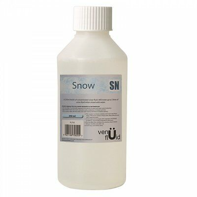 UKDJ Venu Snow Fluid Concentrate - 5L When Mixed With Water For Snow Machines