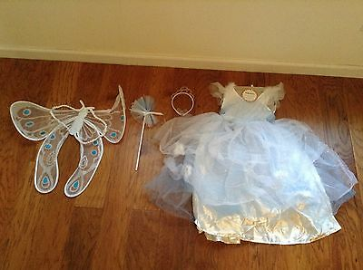 Pottery Barn Kids New Fairy Princess Halloween costume Blue Discontinued