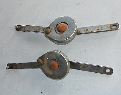 1968-74 MGB GT Rear Deck Lift Hatch Back Trunk Prop Rods, Spring-Loaded, Pair