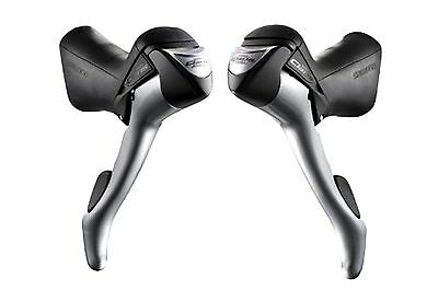 Shimano Bicycle Claris ST-2400-L/2400-R 2x8 Speed Dual Control Lever Set Bike