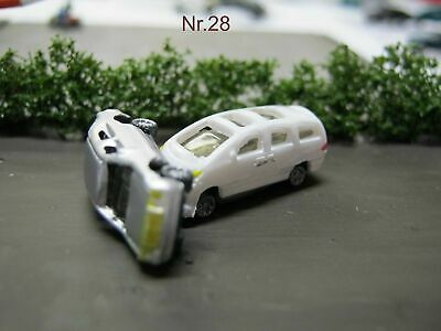 (SA01) Autounfall Spur Scale Gauge Z (1:220) car accident