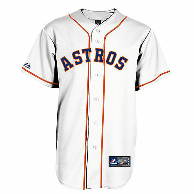 MLB Baseball Trikot/Jersey HOUSTON ASTROS home white - von Majestic