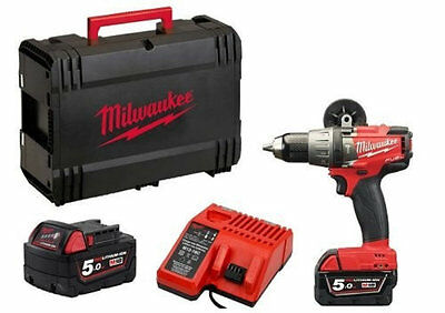 Milwaukee M18FPD-502X 18v Brushless Fuel 2 Cordless Hammer Combi Drill NEW 2015