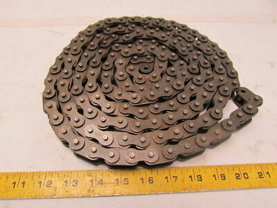 """635B 10Ft length side bow roller chain 3/8"""" pitch 1/2""""roller width"""