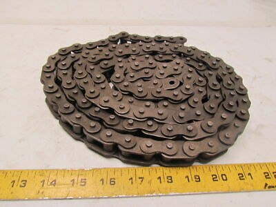 """63SB 92"""" length side bow roller chain 3/4"""" pitch 1/2"""" roller width"""
