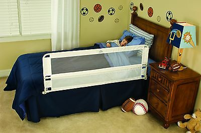 Bed Side Safety Hide Away Child Bed Rails Guard Protectors Kids Crib Toddler