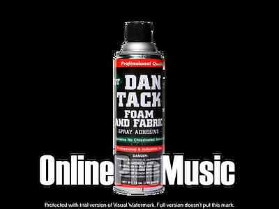 Dan Tack Professional Quality Foam & Fabric Spray Glue/Adhesive Big Can 12.00oz