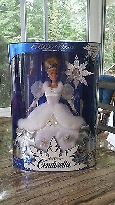 Holiday Princess Cinderella Barbie 1996 First in a Series