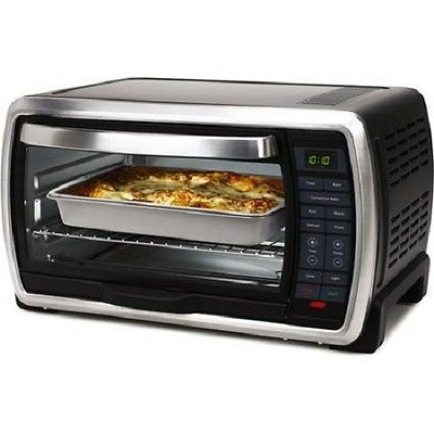 Oven Convection Toaster Bake Oster Countertop Stainless Kitchen Steel ...