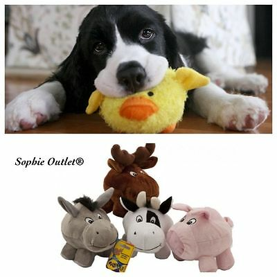 Squeaky Pet Plush Toy Squeaker Sound Dog Cat Puppy Play Chew Fetch Training Toys