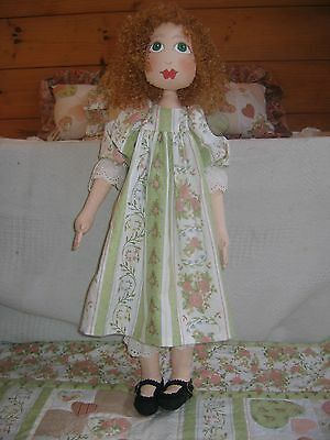 Cloth Doll Pattern - Lizzie - lovely rag doll