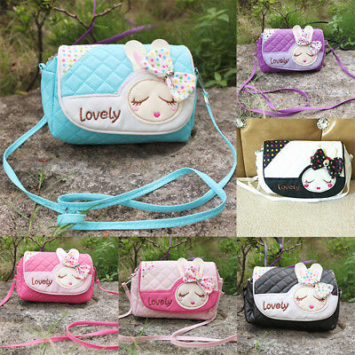 Lovely Kids Girls Handbag Shoulder Bags Package Cute Princess Messenger Bag