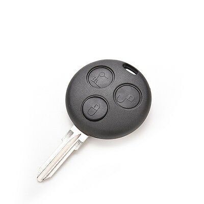Remote Key For Benz Smart Car Fortwo Replacement Case 3 Button Shell