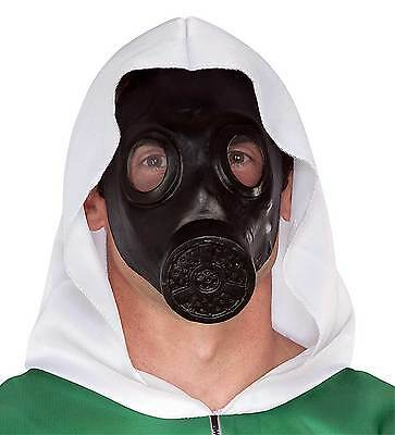Goth Steampunk Cosplay GAS MASK Zombie Apocalypse Halloween Costume Accessory-A