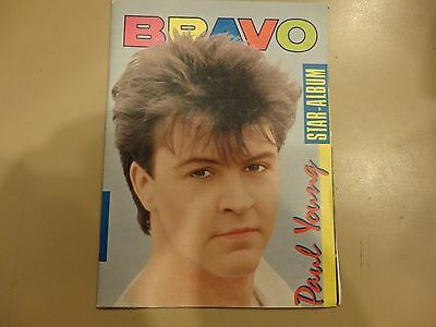 Paul young bravo star album booklet