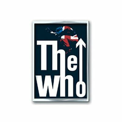 The Who Leap Band Logo Metal Pin Badge Brooch Album Band Official Product