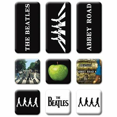 The Beatles Abbey Road Mini Fridge Magnet Set In Case Gift Fan Official Licensed