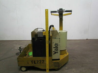 Yale MTWR Electric Tow Tractor Mule Walk/ride 12V 5000lb Capacity Tested!