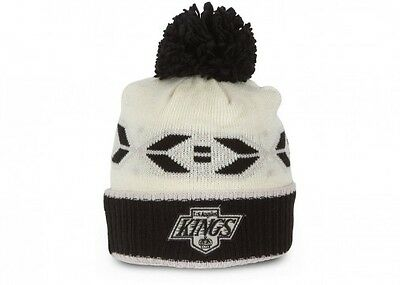 Los Angeles Kings official CCM Retro Cuffed Pom Knit