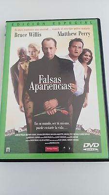 Falsas Apariencias Dvd Edic Especial Bruce Willis Mathew Perry Castellano Ingles