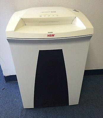 HSM Paper Shredder Securio B32 Heavy Duty Great Condition Made In Germany