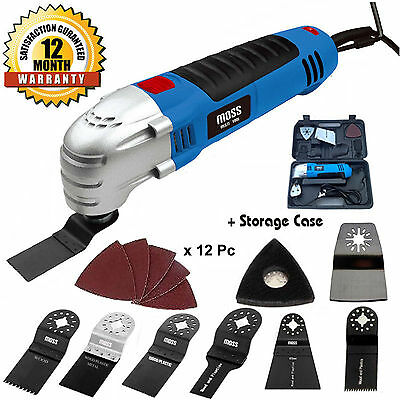 MOSS Oscillating Combi Multi Function Tool Sander Scraper 21pc Accessories