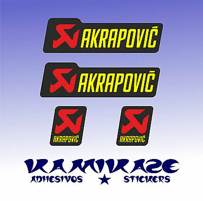 Pegatina Sticker Autocollant Adesivi Aufkleber Decal Kit Akrapovic