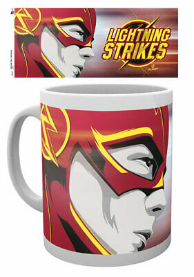 The Flash - Dc Comics - Ceramic Coffee Mug / Cup (Lightning Strikes)