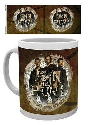Supernatural - Ceramic Coffee Mug / Cup (Sam, Dean & Castiel - Join The Hunt)