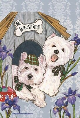 Yorkshire Terrier House Flags and Garden Flags by Pipsqueak Designs in two sizes